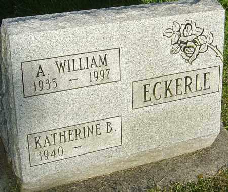 ECKERLE, A WILLIAM - Montgomery County, Ohio | A WILLIAM ECKERLE - Ohio Gravestone Photos