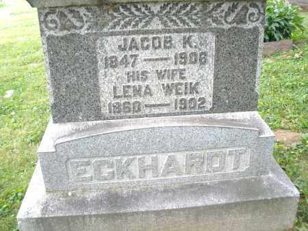 ECKHARDT, JACOB K. - Montgomery County, Ohio | JACOB K. ECKHARDT - Ohio Gravestone Photos