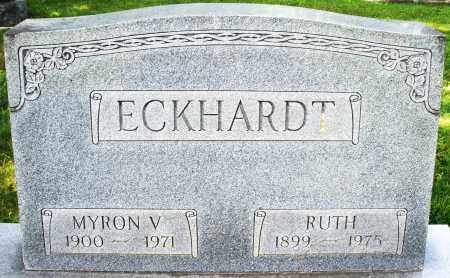 ECKHARDT, RUTH - Montgomery County, Ohio | RUTH ECKHARDT - Ohio Gravestone Photos