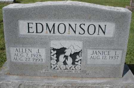 EDMONSON, ALLEN J. - Montgomery County, Ohio | ALLEN J. EDMONSON - Ohio Gravestone Photos