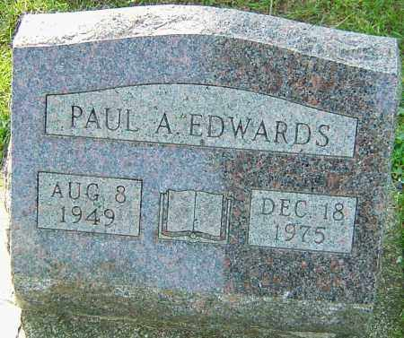 EDWARDS, PAUL A - Montgomery County, Ohio | PAUL A EDWARDS - Ohio Gravestone Photos