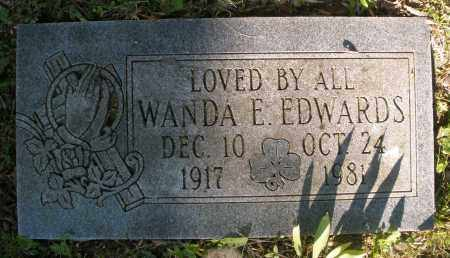 EDWARDS, WANDA E. - Montgomery County, Ohio | WANDA E. EDWARDS - Ohio Gravestone Photos