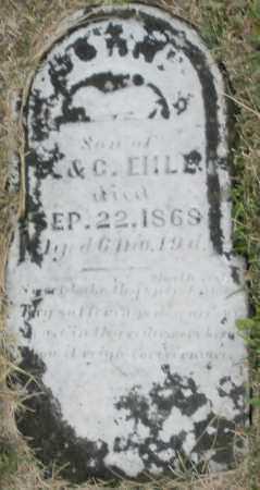 EHLE, JOHN - Montgomery County, Ohio | JOHN EHLE - Ohio Gravestone Photos
