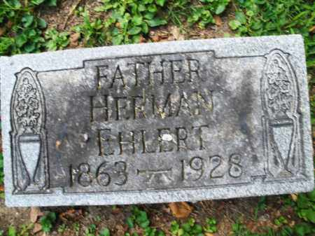 EHLERT, HERMAN - Montgomery County, Ohio | HERMAN EHLERT - Ohio Gravestone Photos
