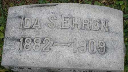 EHREN, IDA S. - Montgomery County, Ohio | IDA S. EHREN - Ohio Gravestone Photos