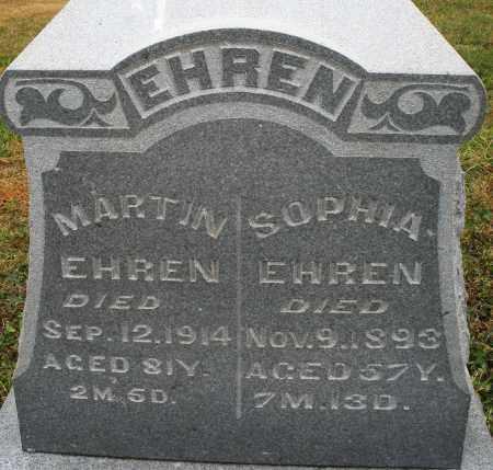 EHREN, MARTIN - Montgomery County, Ohio | MARTIN EHREN - Ohio Gravestone Photos