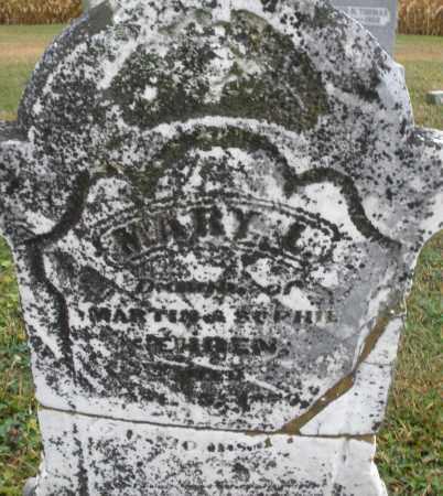 EHREN, MARY L. - Montgomery County, Ohio | MARY L. EHREN - Ohio Gravestone Photos