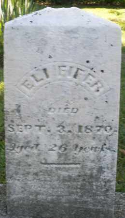 EIFER, ELI - Montgomery County, Ohio | ELI EIFER - Ohio Gravestone Photos