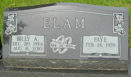 ELAM, BILLY A - Montgomery County, Ohio | BILLY A ELAM - Ohio Gravestone Photos