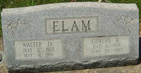 ELAM, GENEVA - Montgomery County, Ohio | GENEVA ELAM - Ohio Gravestone Photos