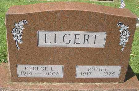 ELGERT, RUTH E. - Montgomery County, Ohio | RUTH E. ELGERT - Ohio Gravestone Photos