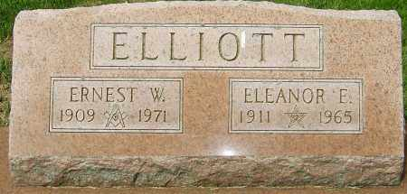ELLIOTT, ERNEST W - Montgomery County, Ohio | ERNEST W ELLIOTT - Ohio Gravestone Photos