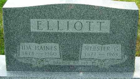 ELLIOTT, IDA - Montgomery County, Ohio | IDA ELLIOTT - Ohio Gravestone Photos