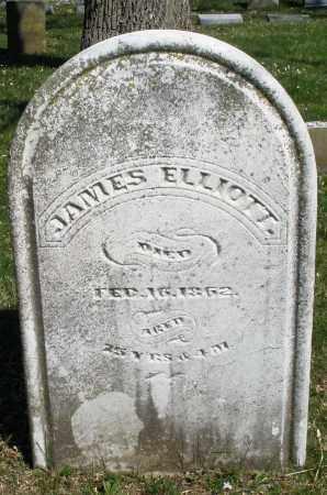 ELLIOTT, JAMES - Montgomery County, Ohio | JAMES ELLIOTT - Ohio Gravestone Photos