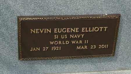 ELLIOTT, NEVIN EUGENE - Montgomery County, Ohio | NEVIN EUGENE ELLIOTT - Ohio Gravestone Photos