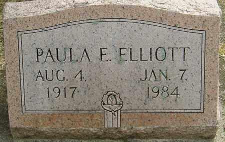 ELLIOTT, PAULA E - Montgomery County, Ohio | PAULA E ELLIOTT - Ohio Gravestone Photos