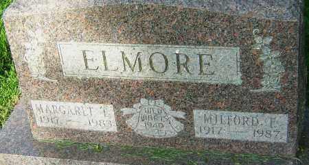 ELMORE, MILFORD F - Montgomery County, Ohio | MILFORD F ELMORE - Ohio Gravestone Photos