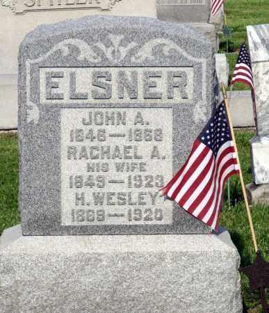 ELSNER, RACHAEL A. - Montgomery County, Ohio | RACHAEL A. ELSNER - Ohio Gravestone Photos