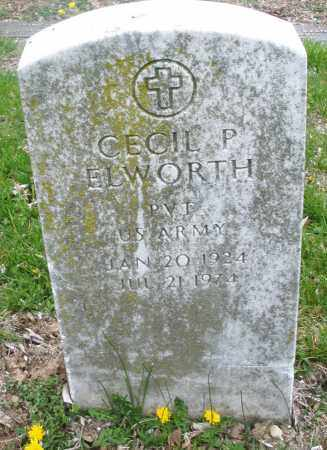 ELWORTH, CECIL P. - Montgomery County, Ohio | CECIL P. ELWORTH - Ohio Gravestone Photos