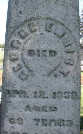 EMRICK, GEORGE - Montgomery County, Ohio | GEORGE EMRICK - Ohio Gravestone Photos