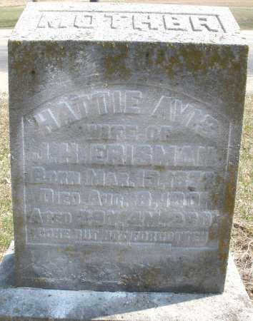 ERISMAN, HATTIE - Montgomery County, Ohio | HATTIE ERISMAN - Ohio Gravestone Photos