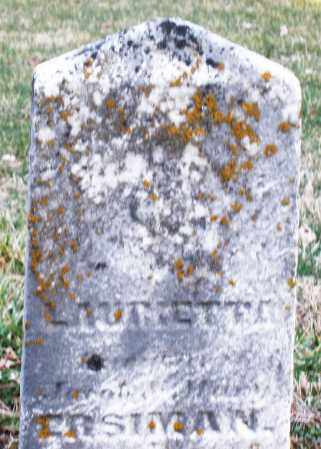 ERISMAN, LAURIETTA - Montgomery County, Ohio | LAURIETTA ERISMAN - Ohio Gravestone Photos