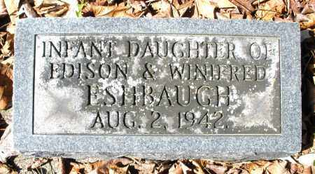 ESHBAUGH, INFANT GIRL - Montgomery County, Ohio | INFANT GIRL ESHBAUGH - Ohio Gravestone Photos