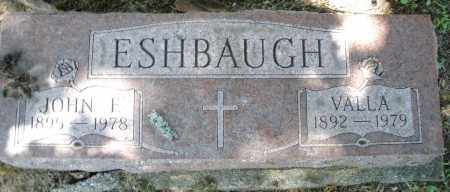 ESHBAUGH, VALLA - Montgomery County, Ohio | VALLA ESHBAUGH - Ohio Gravestone Photos