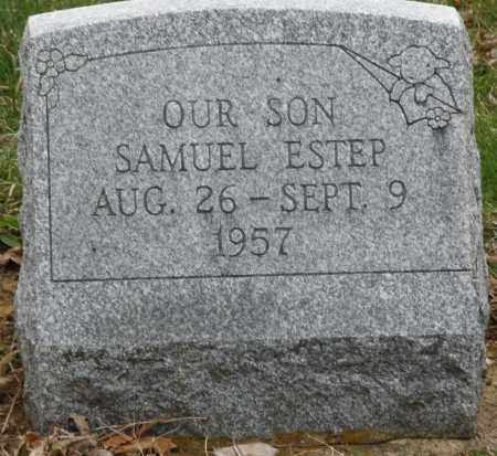 ESTEP, SAMUEL - Montgomery County, Ohio | SAMUEL ESTEP - Ohio Gravestone Photos