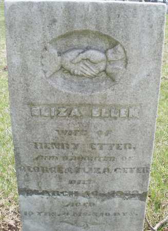 GEYER ETTER, ELIZABETH - Montgomery County, Ohio | ELIZABETH GEYER ETTER - Ohio Gravestone Photos