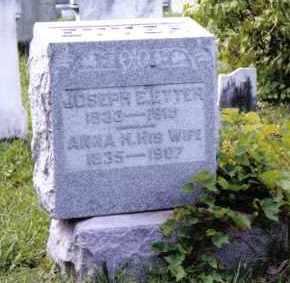 ETTER, JOSEPH E. - Montgomery County, Ohio | JOSEPH E. ETTER - Ohio Gravestone Photos