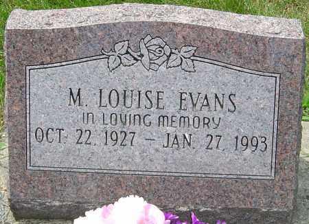 EVANS, M LOUISE - Montgomery County, Ohio | M LOUISE EVANS - Ohio Gravestone Photos