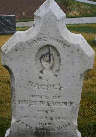 EVANS, RACHEL - Montgomery County, Ohio | RACHEL EVANS - Ohio Gravestone Photos