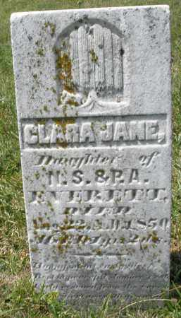 EVERETTE, CLARA JANE - Montgomery County, Ohio | CLARA JANE EVERETTE - Ohio Gravestone Photos