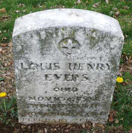 EVERS, LOUIS HENRY - Montgomery County, Ohio | LOUIS HENRY EVERS - Ohio Gravestone Photos