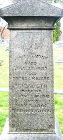 EWING, JOHN - Montgomery County, Ohio | JOHN EWING - Ohio Gravestone Photos