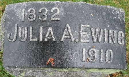 EWING, JULIA A. - Montgomery County, Ohio | JULIA A. EWING - Ohio Gravestone Photos