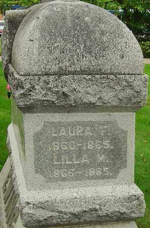 EWING, LAURA F - Montgomery County, Ohio | LAURA F EWING - Ohio Gravestone Photos