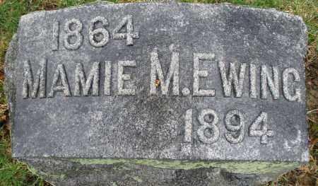 EWING, MAMIE M. - Montgomery County, Ohio | MAMIE M. EWING - Ohio Gravestone Photos