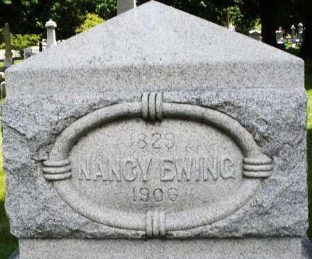 EWING, NANCY - Montgomery County, Ohio | NANCY EWING - Ohio Gravestone Photos