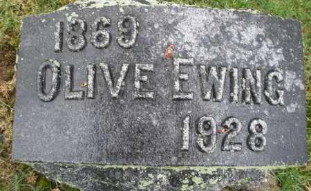 EWING, OLIVE - Montgomery County, Ohio | OLIVE EWING - Ohio Gravestone Photos