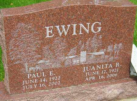 EWING, PAUL E - Montgomery County, Ohio | PAUL E EWING - Ohio Gravestone Photos