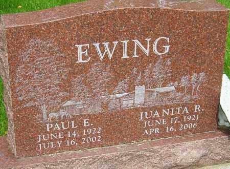 LUCAS EWING, JUANITA R - Montgomery County, Ohio | JUANITA R LUCAS EWING - Ohio Gravestone Photos