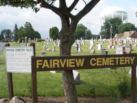 FAIRVIEW, CEMETERY - Montgomery County, Ohio | CEMETERY FAIRVIEW - Ohio Gravestone Photos