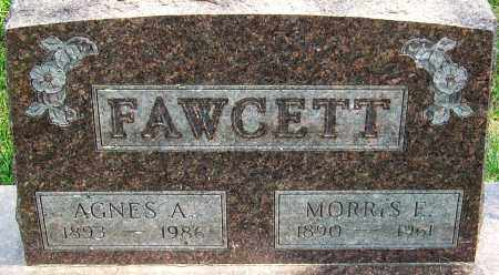 FAWCETT, AGNES A - Montgomery County, Ohio | AGNES A FAWCETT - Ohio Gravestone Photos