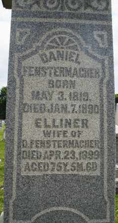 FENSTERMACHER, ELLINER - Montgomery County, Ohio | ELLINER FENSTERMACHER - Ohio Gravestone Photos