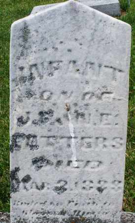 FETTERS, INFANT SON - Montgomery County, Ohio | INFANT SON FETTERS - Ohio Gravestone Photos