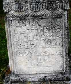FETTERS, MARY A. - Montgomery County, Ohio | MARY A. FETTERS - Ohio Gravestone Photos