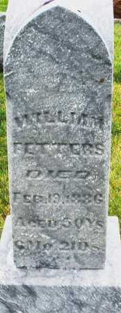 FETTERS, WILLIAM - Montgomery County, Ohio | WILLIAM FETTERS - Ohio Gravestone Photos