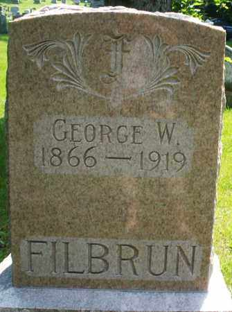 FILBURN, GEORGE W. - Montgomery County, Ohio | GEORGE W. FILBURN - Ohio Gravestone Photos